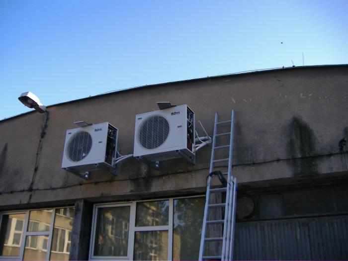 Kontrola pracy klimatyzatorów